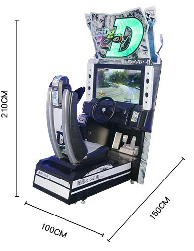 Wholesale Arcade Initial D 8 Arcade Coin Operated Car ...
