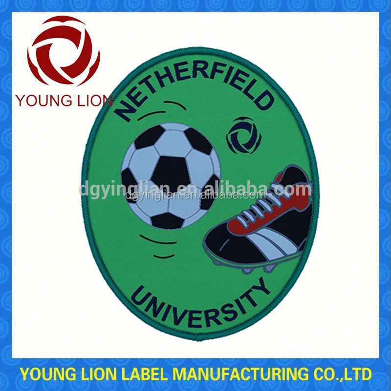 sports flag badge embrodiered patches