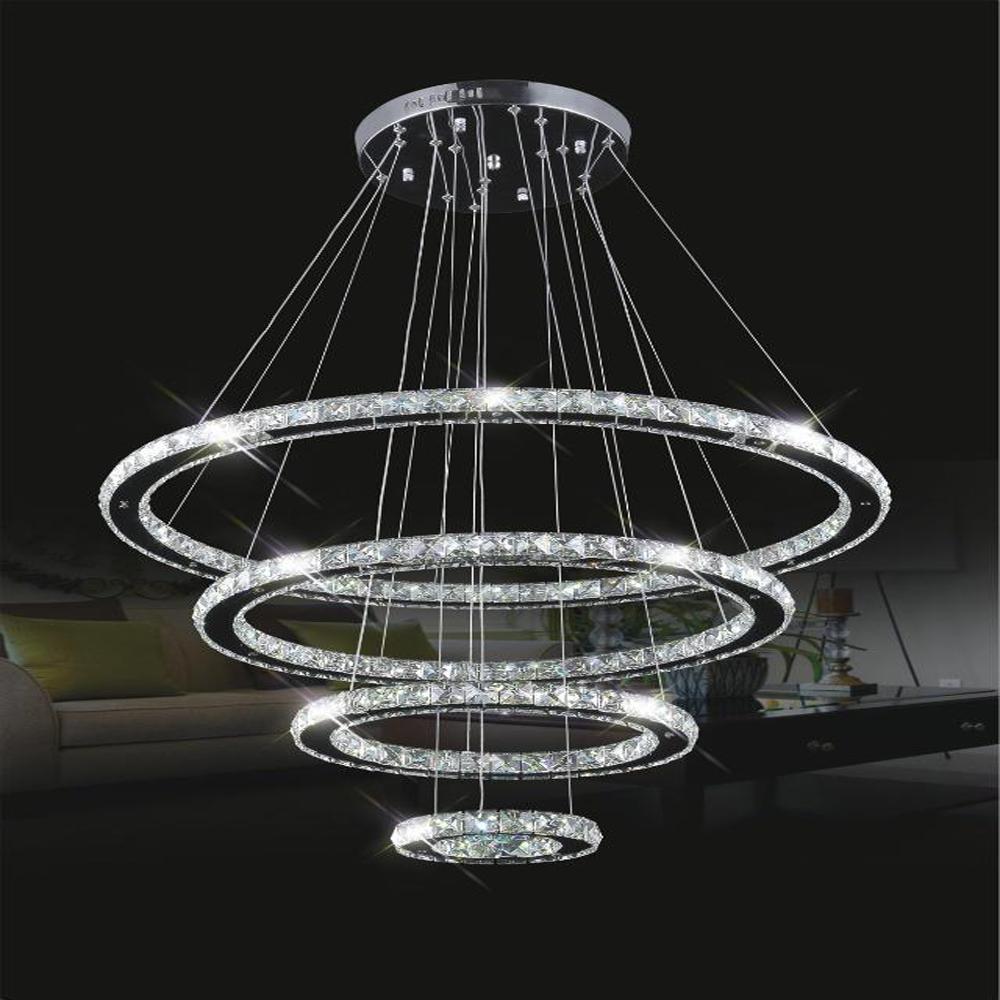 contemporain populaire forme ronde anneau led lustre lumi re pendentif lampe pour d coratifs. Black Bedroom Furniture Sets. Home Design Ideas