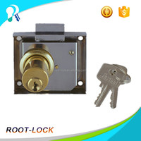 Handle bar cyber lock pocket door lock