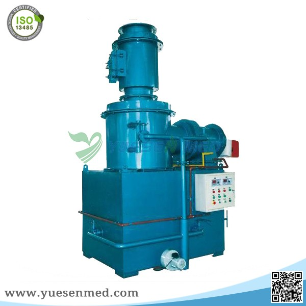 Waste Management Smokeless trash incinerator