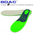 colorful TPE gel shock absorbing shoe insert sport shoe insole