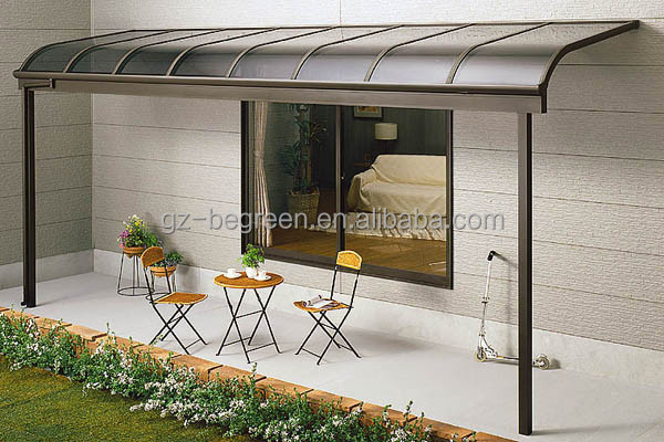3x3.8m Garden Used Gazebo, Aluminum Patio Shed For Rest
