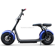 fat tire citycoco electric scooter with front suspesnion