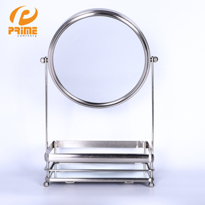 Bedroom Interior Decoration Storaged Makeup Tray Mirror