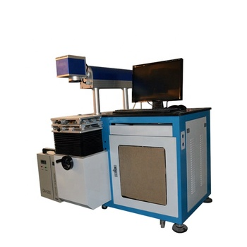 60W CO2 beam combiner laser machine lens 25mm length 700mm 40w CO2 laser tube marking machine