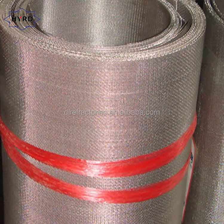 MOQ 1 roll weaving wire mesh for hot sale