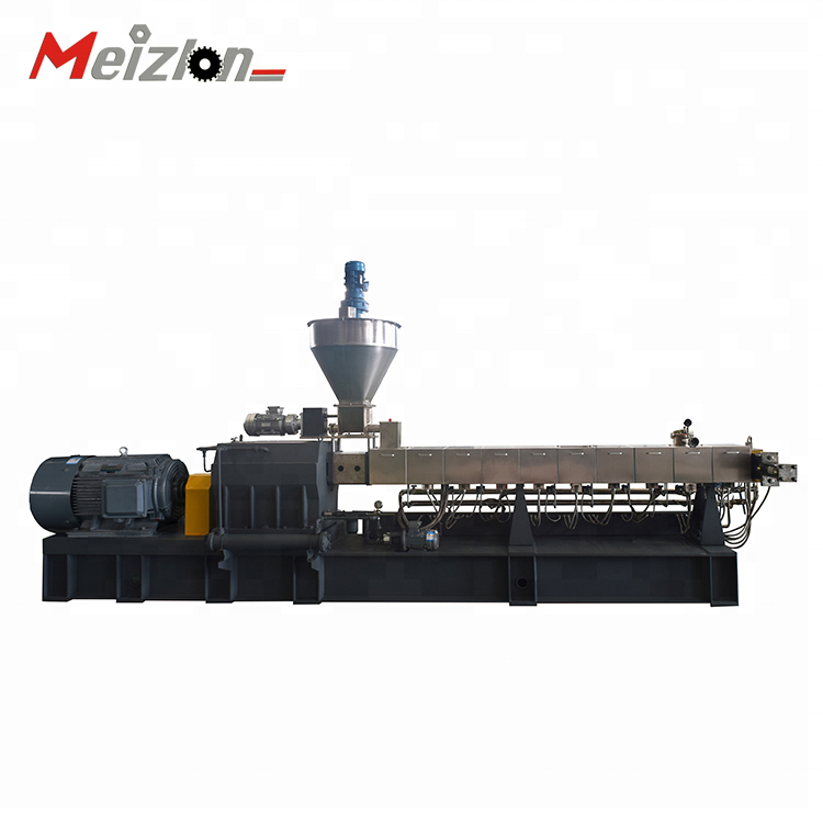 PP/<strong>PE</strong> + 85% CACO3 high filler masterbatch production line/high output masterbatch making machine