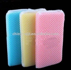 hot sale kitchen dishwashing cleaning sponge scouring pads