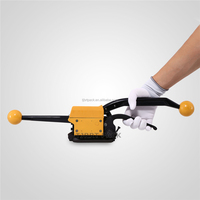 A333 Portable Sealless steel strapping banding tool manual combination strapping tool