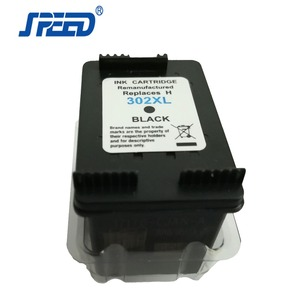 Third Party Brand Remanufactured Printer Ink Cartridge Replacement For HP 302 Ink Cartridges Wholesale