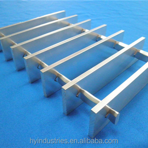 Flat bar aluminium grating