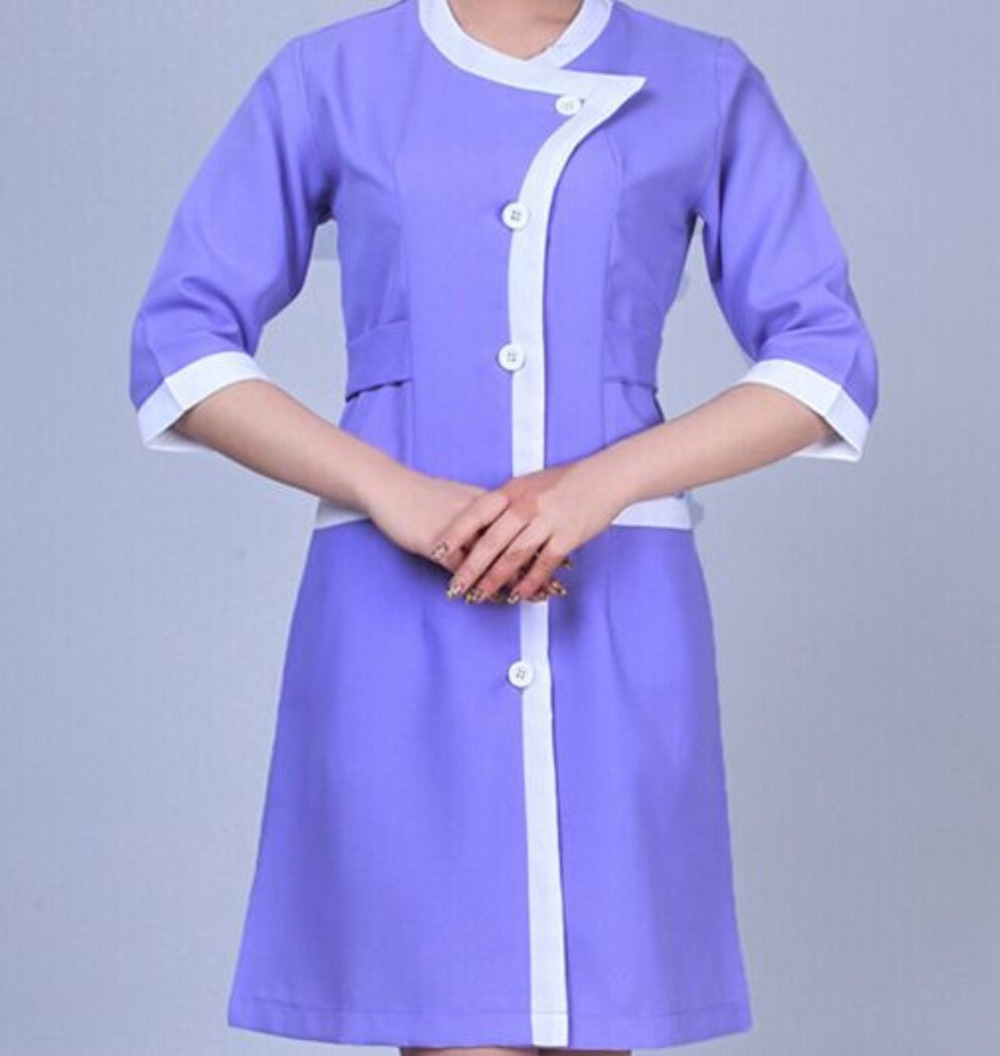 Women beauty salon uniform spa uniform buy beauty salon for Spa uniform europe