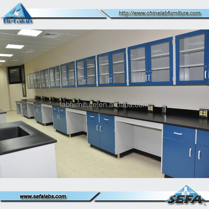 Laboratory Furniture Island Steel Frame Laboratory