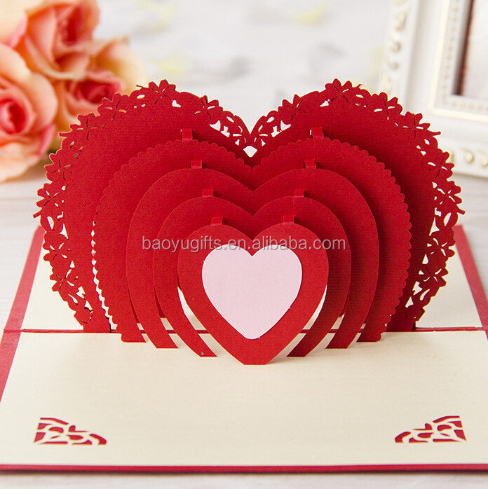 High quality paper material happy wedding day cardgreeting card high quality paper material happy wedding day card greeting cardvalentine day card 3d m4hsunfo Choice Image