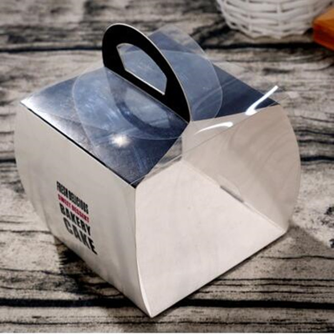 Food grade Take Out To-Go Windowed Bakery Cupcake Boxes