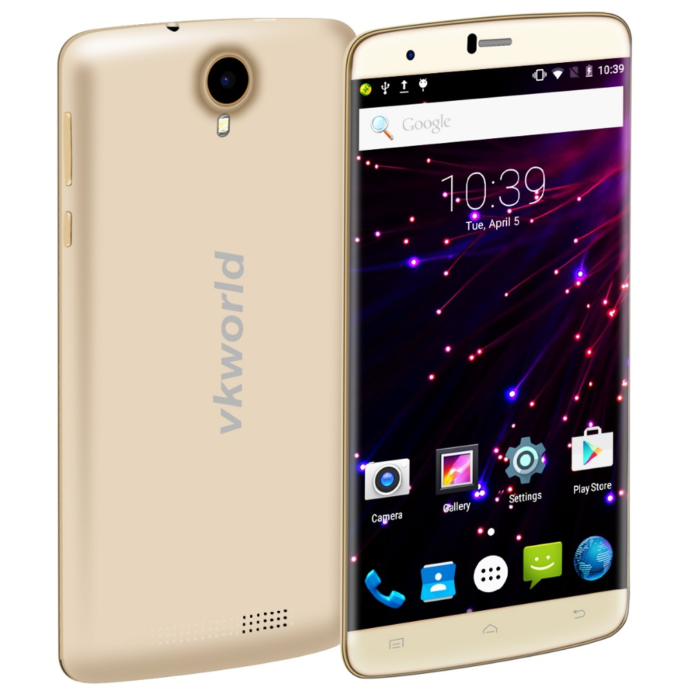 China Mobile Phone vkworld T6 6inch Bigger HD Screen MTK6735 RAM 2G ROM 16G Camera 5MP+13MP 4G Dual SIM Android 5.1 Smartphone