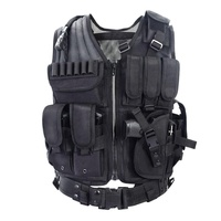wholesale fashion mesh army police bullet proof molle military tactical vest