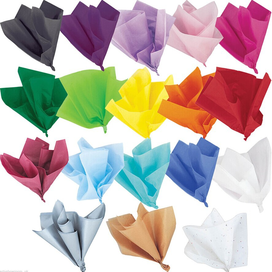 Colorful Tissue Paper / Gift Wrap / Wrapping Paper Sheets ...