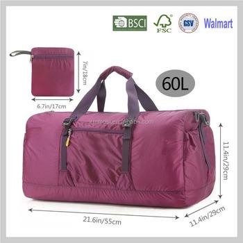 953b7e5e0e0 Travel Luggage Bag Folding Carry-on Duffle Bag Foldable Travel Bag ...