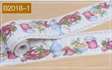 Водостойкие настенные наклейки на плинтус, Новые самоклеящиеся обои для кухни, спальни, ванной комнаты, наклейки на талию(Китай)