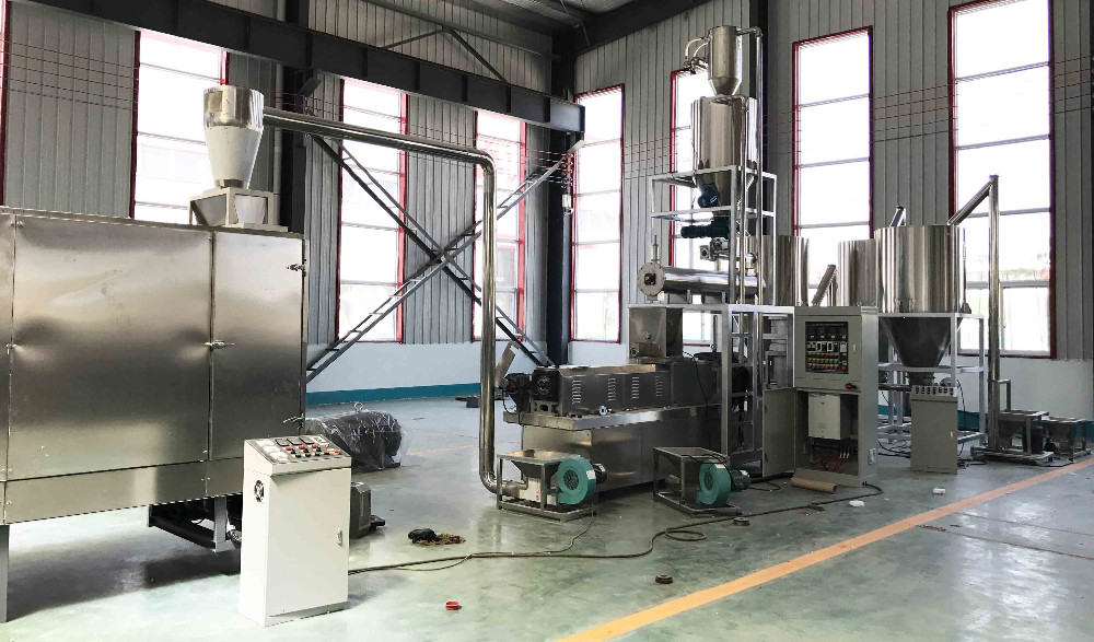 Simple Operation Pet Food Manufacturing Full Production Line Dog Food  Making Machine - Buy Full Production Line Dog Food Making Machine,Dog Food
