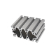 Silver 80x80mm Modular Assembly System Handle In India Aluminum Corner Crimping Alloy Aluminium Extrusion Profile For Retail