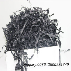 YouHeng Hot Sale Black Crinkle Cut Paper Shred With Competitive Price