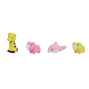 Eco-Friendly Rubber Material Erasers Lovely Animals Penguin/Dolphins Shape Erasers