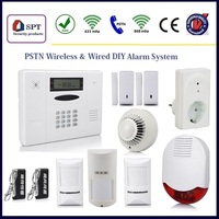 wireless intelligent home pstn alarm system accessories, door contact switch, wireless remote controller key