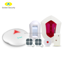 868MHz Smart Home Alarm System Support 5 Groups of Alarm Call Phone Numbers Security Alarm System