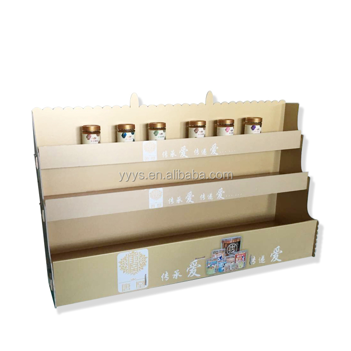 Customized Cheap Advertising Promotion Cardboard Book Display Stands