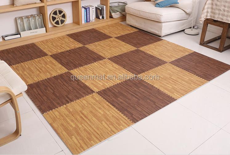 Pavimento in legno stuoia pavimentazione in gomma per cantina e