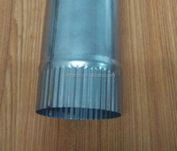 Stainless steel chimney flues for fireplace and stove