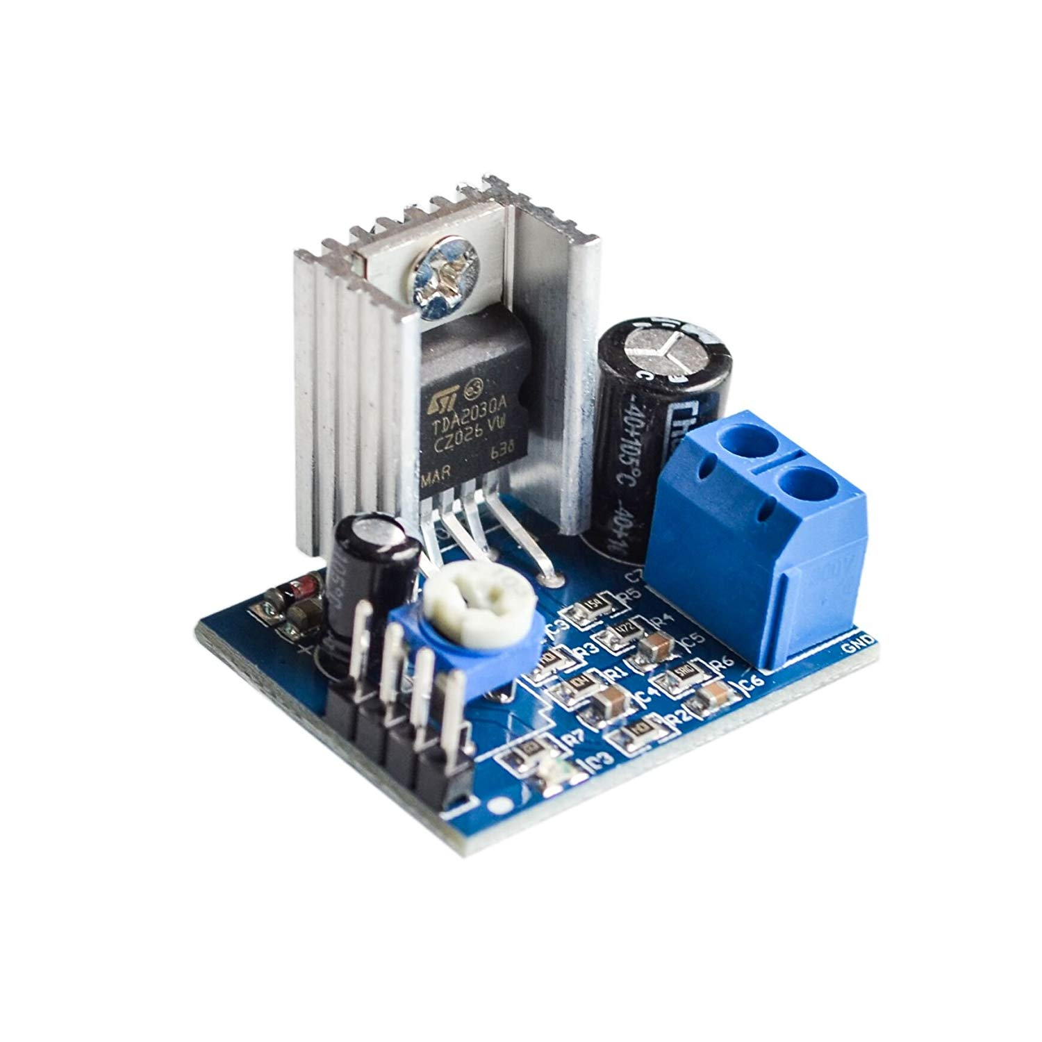 Cheap Audio Power Amp Module Find Deals On Tda2030 Hi Fi Amplifier Circuit Electronic Project Get Quotations Seajunn 10pcs Lot Tda2030a Single Supply Board