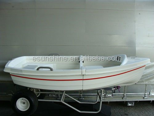 Attention small dinghy fiberglass fishing boat for Small motor boat cost