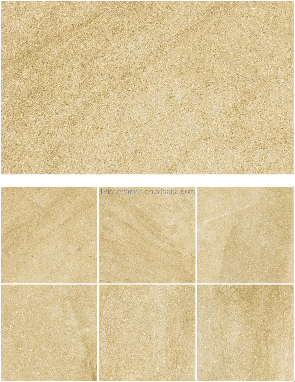 2016 New Design Inkjet Ceramic Tile Matte Finish Porcelain Floor Tile Rustic Porcelain Tiles