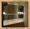 Wall mounted hotel bathroom mirrors