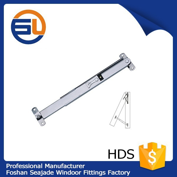 High quality telescopic friction upvc door stay hardware HDS
