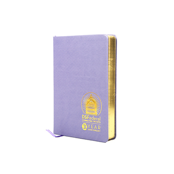 Foil - gold hot stamping a4 / a5 note book notebook with logo print