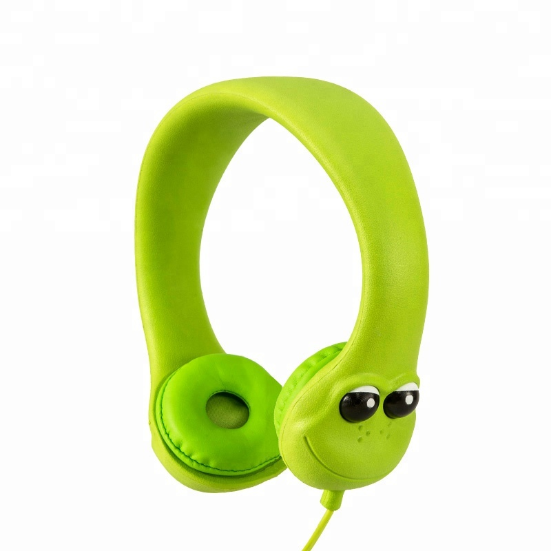 Wrap-able eco EVA save children headphone kids headphone volume limited 85 db