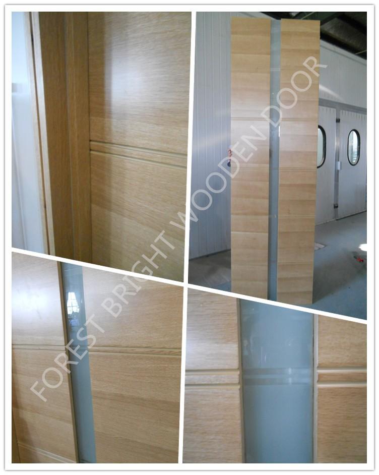 House Interior Glass Bathroom Door Design , Italian Design Wooden