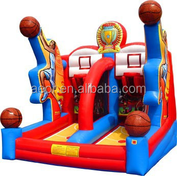 2015 hot sale inflatable Basketball games/toys for kids