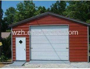 Flat Roof Garage/Portable Metal Garage With Electric Door /Prefab Carport/  Garage