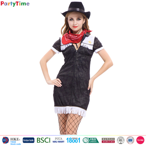 adult halloween carnival party western costumes sexy cowgirl dresses