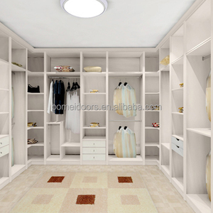 L-type white wardrobe closet for sale