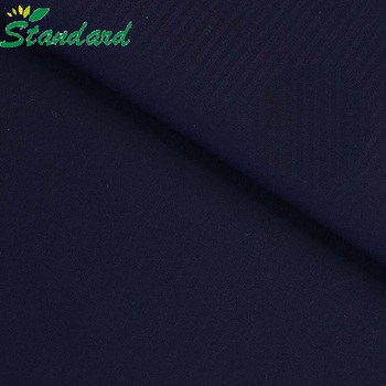 Customized Colors 110gsm TC Plain Dyed Polyester Cotton Fabric For Shirt