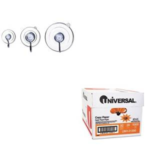 KITADM9512993040UNV21200 - Value Kit - ADAMS MANUFACTURING CORP. Suction Cup Combo Pack (ADM9512993040) and Universal Copy Paper (UNV21200)
