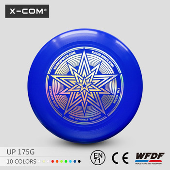 X-COM Creative Flying Toy 175g Flying Disc Frisbee with your own logo