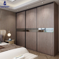 Hot sale wall sliding bedroom furniture modern wardrobe closet